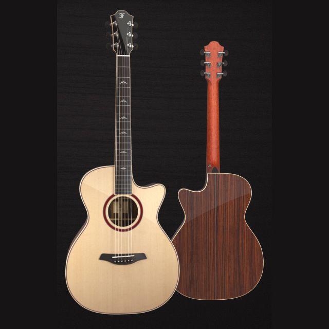Furch Masters Choice Orange Series Om Cutaway Lr Baggs Spa Guitar Art And Technology Guitar Building