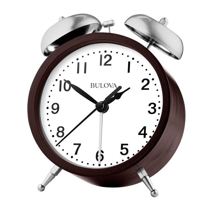 Bulova Super Bell Alarm Clock - B5026