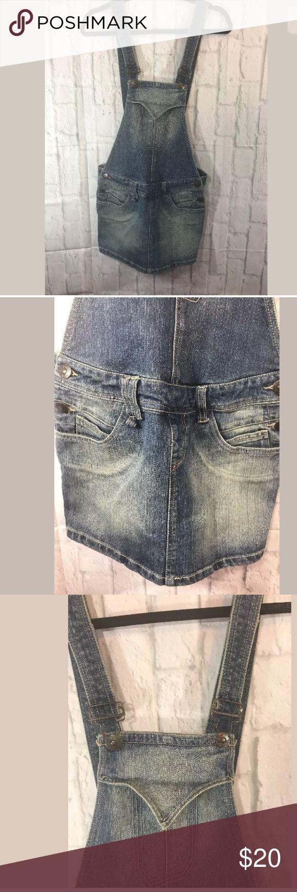 Mossimo Supply & Co Denim Overall Skirt Mossimo Supply & Co Denim Overall Skirt Size S Mossimo Supply Co Skirts