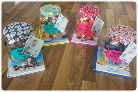 Trucs de Maëliane, le blog.: Cadeaux de fin d'année sucrés pour maîtresses gourmandes