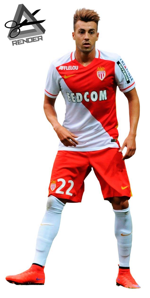 Stephan El Shaarawi Render 2015-2016 Monaco by RAAT96