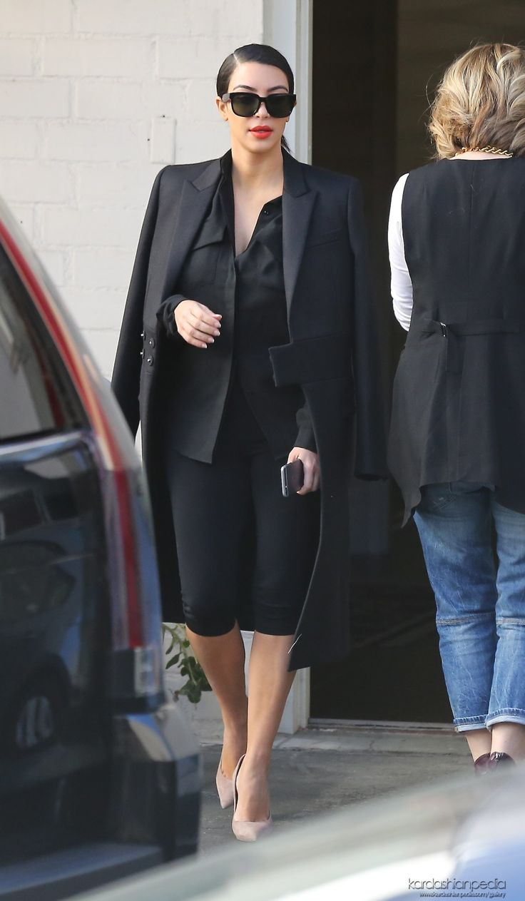 Kim leaving the Anastasia Beverly Hills Salon in Beverly Hills, CA - 25/11/2014