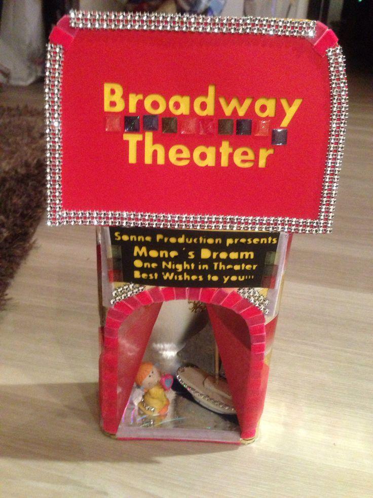Luxurypimp Gutscheinverpackung Thema: Broadway