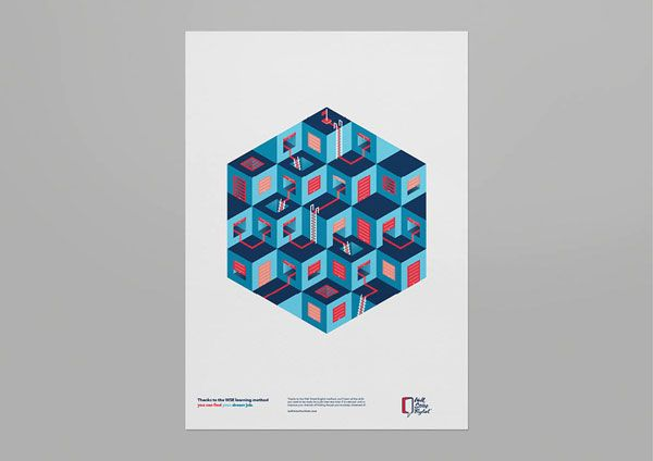 Wall Street English - Campaign Posters by Luca Fontana and Matteo Maggiore