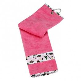 Nine and Wine Ladies Golf Towel