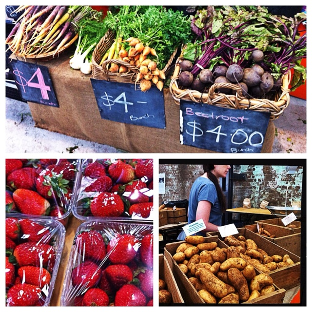 """The """"award-winning authentic Eveleigh  Farmers' Market held every Saturday from 8am to 1pm in the heart of Sydney City."""" A great place to pick up some healthy fruits and veggies while you're on your study abroad adventure with CAPA International Education."""