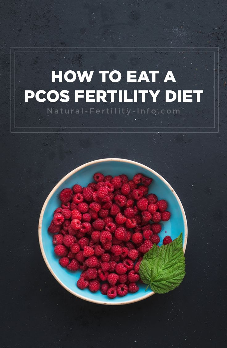 PCOS fertility diet