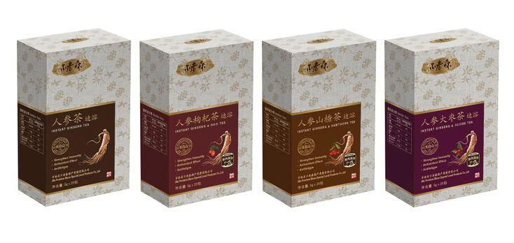 Buloson Ginseng Tea Package - Kyung Hee baek