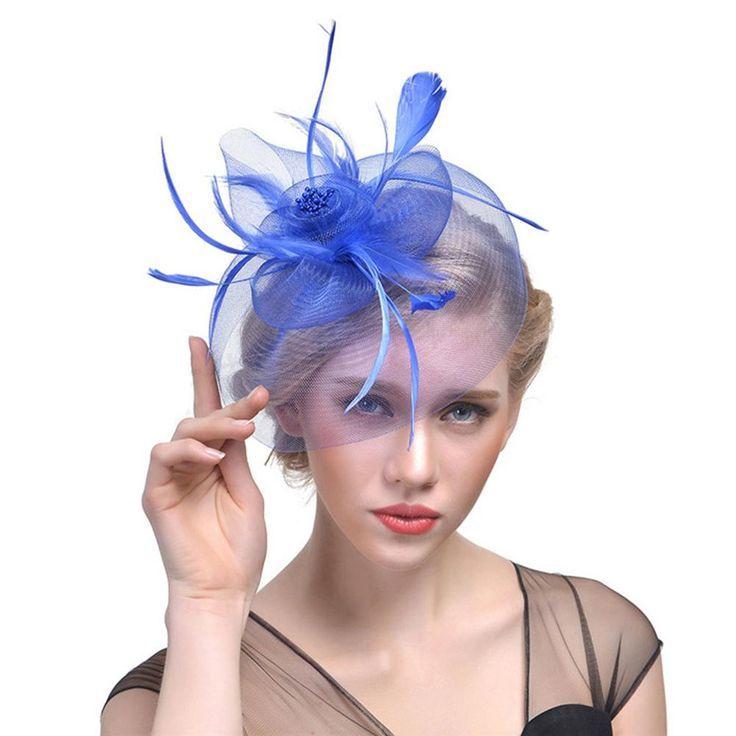 Cocktail Tea Party Fascinators Hat Fascinators Fascinator Kopfschmuck Feder Haar
