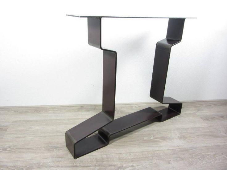 Handgemaakt industrieel tafelonderstel I poot Zwaar