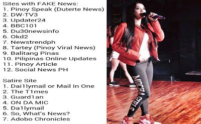 Trending Topics Today: Mocha Uson Exposes A List Of 'Fake Duterte Blogs' On Social Media