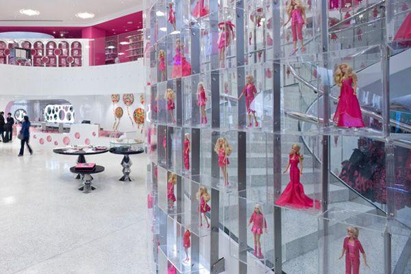 Barbie store Shanghai