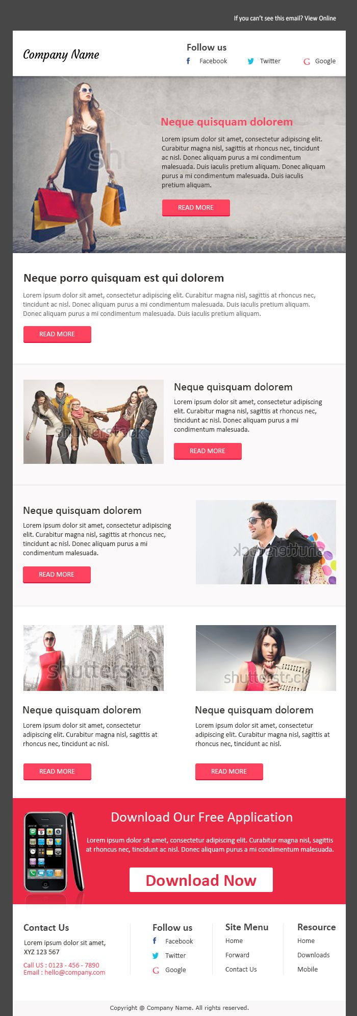 Best Email Templates Free. 10 best free business newsletter ...