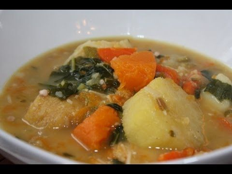 How to make a delightful Ital soup as it's done in the Caribbean. Ital cooking is one rich in natural ingredients and very hearty without the use of meat or salt. So this rich Caribbean soup will be a delight for vegetarians and Rastafarians alike. Ital is vital!