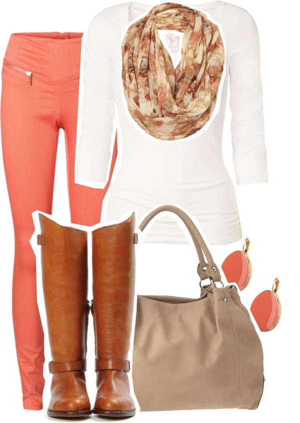 """That awkward moment when it's spring and it's gonna snow tomorrow..."" by style-police ❤ liked on Polyvore"