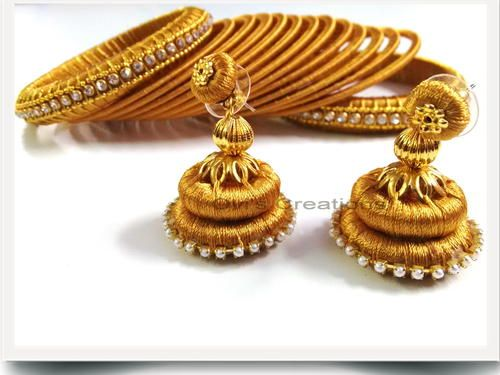 Advance Silk Thread Jewelry Making Workshop In Hyderabad ...