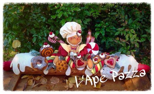 Cartamodelli ginger Natale 2014 : Cartamodello paraspifferi ginger pasticciata