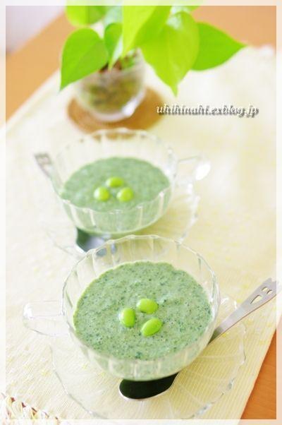ポタージュ風の野菜スープレシピ7選!朝の食欲がない時におすすめ ... ▶1.もろへいやと枝豆のポタージュ