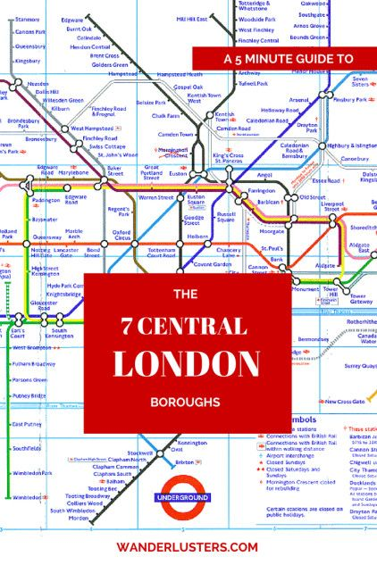 A 5 minute guide to the 7 Central London boroughs, perfect for those trying to figure out where to stay during their visit to the capital #London #travel #wanderlust http://wanderlusters.com/5-minute-guide-to-the-7-central-london-boroughs/