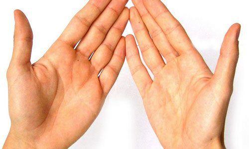 Волшебные массажные точки на пальцах
