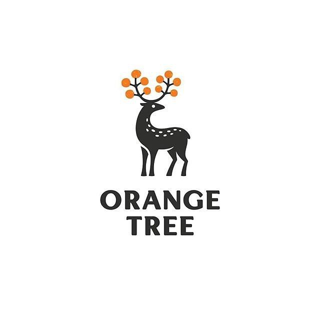 logoinspirations Orange Tree by Alexa Erkaeva @erkaeva - LEARN LOGO DESIGN @learnlogodesign @learnlogodesign - Want to be featured next? Follow us and tag #logoinspirations in your post logoinspirations
