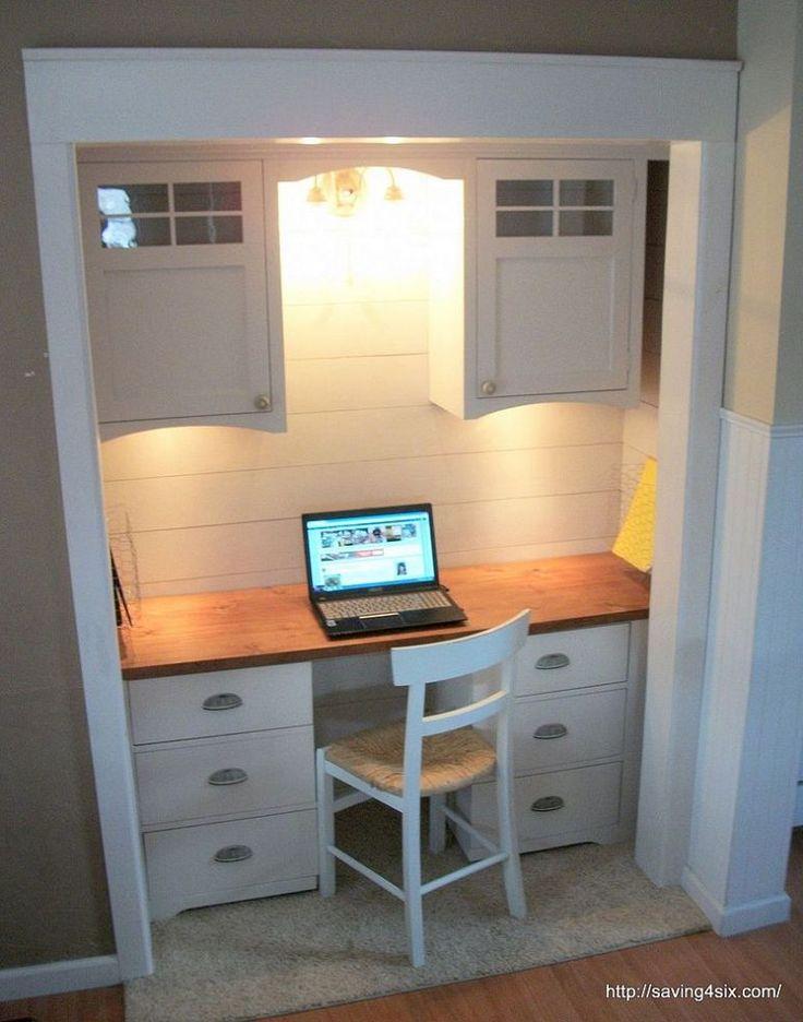 best 25+ closet turned office ideas only on pinterest | closet