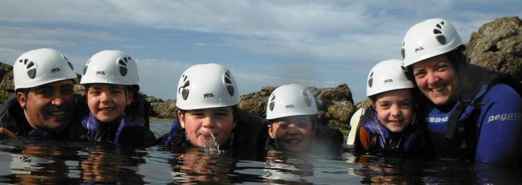 Families Coasteering