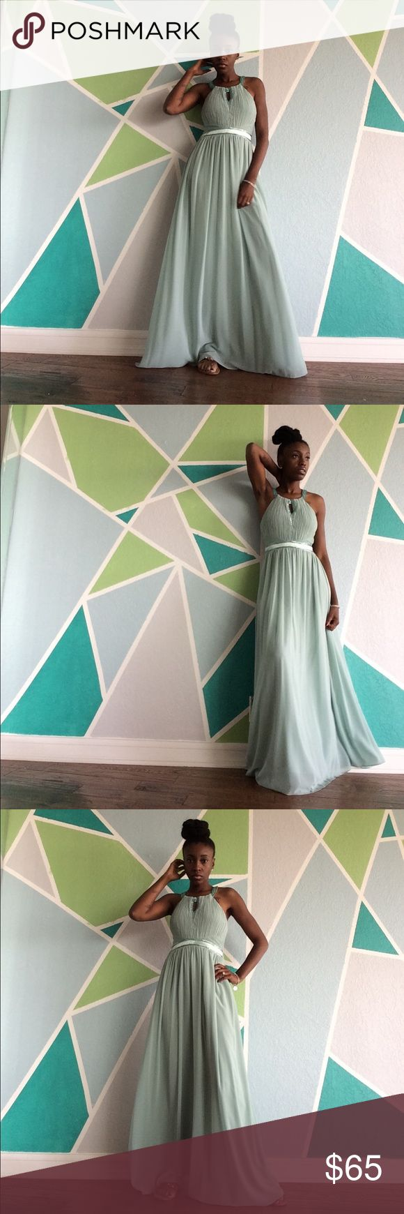 Mint Gown Flowing beautiful dress for the summer!! Dresses Prom