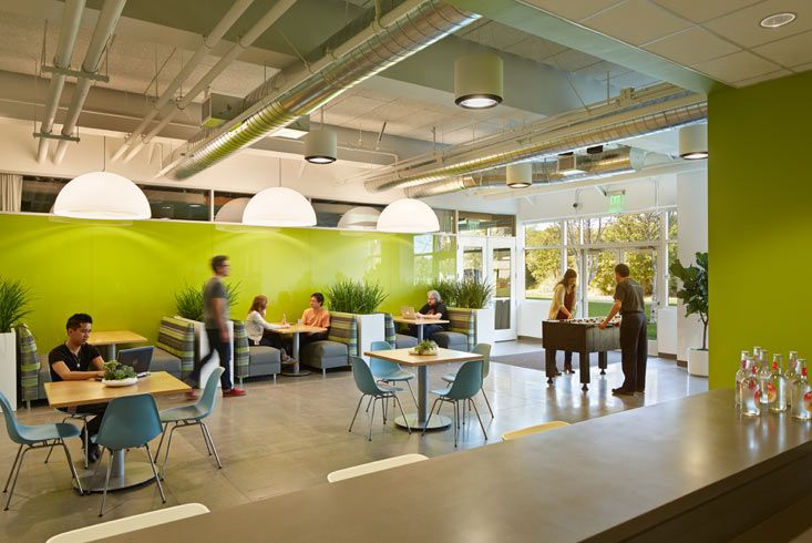 Boora Architects High Tech Office Redesign Workplace