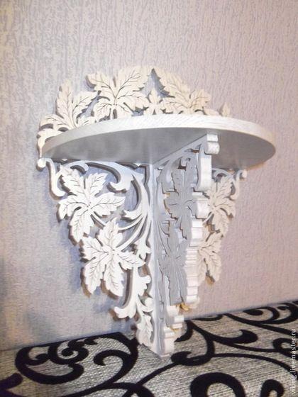 Мебель ручной работы. Ярмарка Мастеров - ручная работа Полка настенная  R 1585. Handmade.