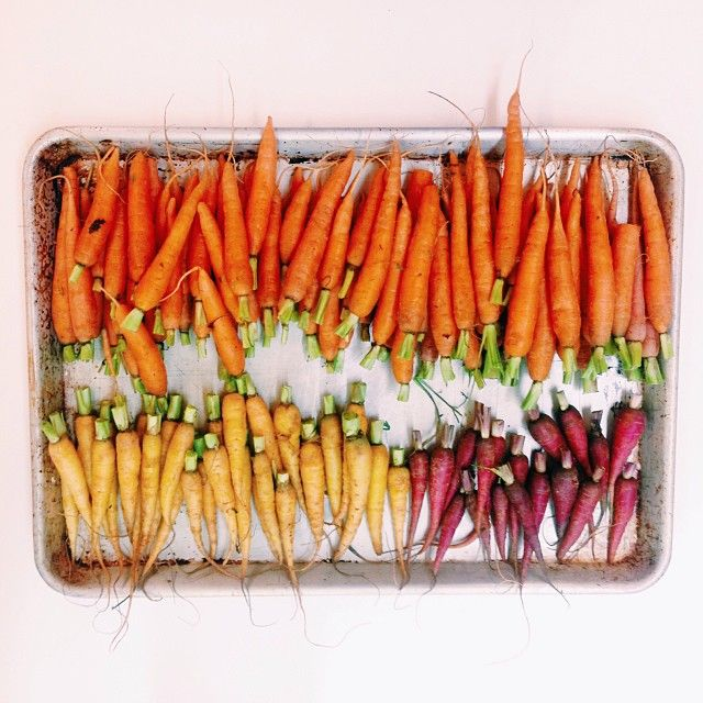 All of the carrots | by Bon Appetit Magazine on Instagram