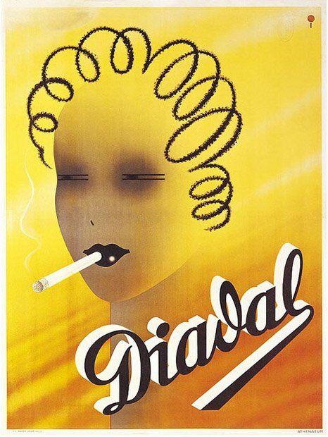 Istvan Irsai, Diadal cigarette paper