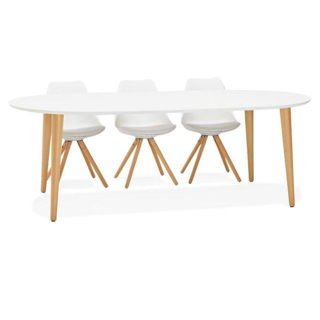 table a manger ronde scandinave