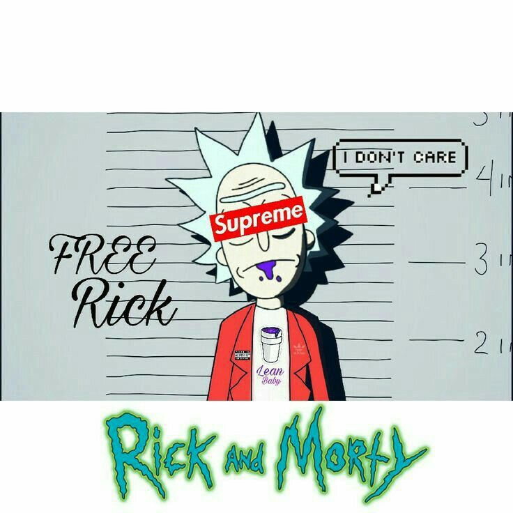 FREE Rick Sanchez B*tch 💸💯  -ArtStyle Made By Young Chino