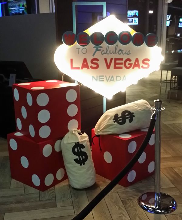 Casino Theme Party Services | Casino Decorations and Props