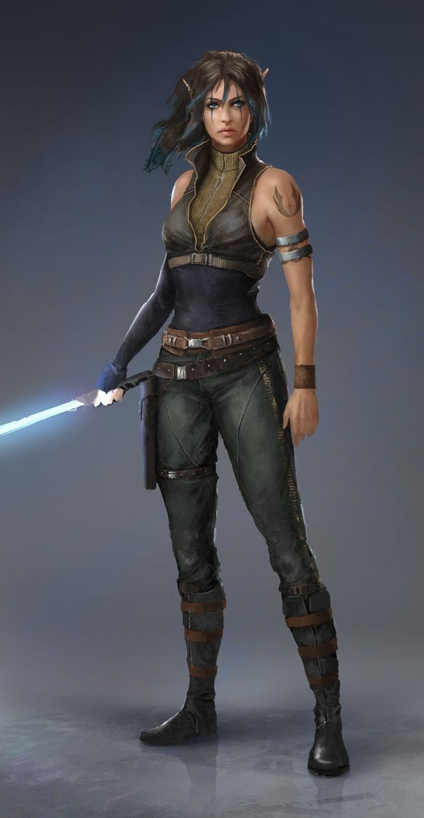 Badass looking jedi