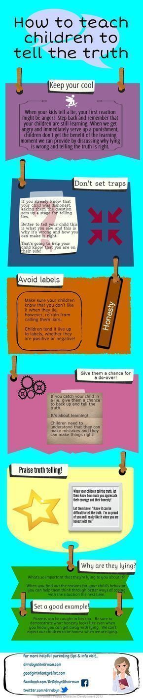 How to teach children to tell the truth #parentingadviceboys