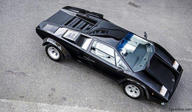 Lamborghini Countach | Lamborghini Countach 5000S for sale. The black Lamborghini Countach ...