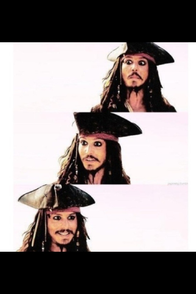 Love captain jack sparrow