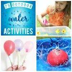 75 Outdoor Water Activities!