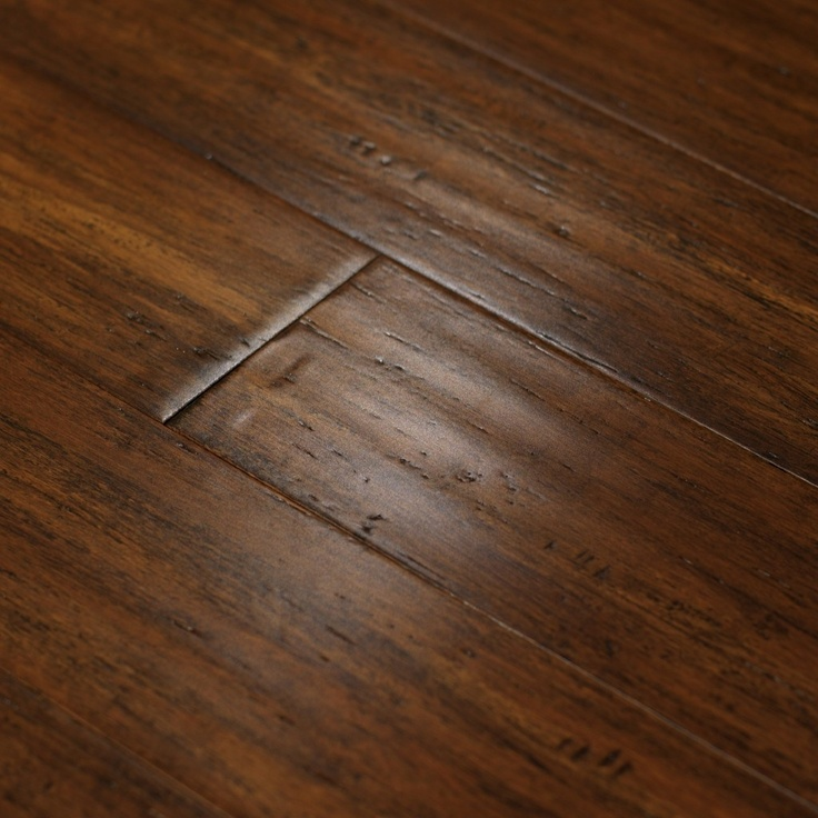 hand scraped strand bamboo flooring thatu0027s tough and hand sculpted by true artisans - Bamboo Flooring Reviews