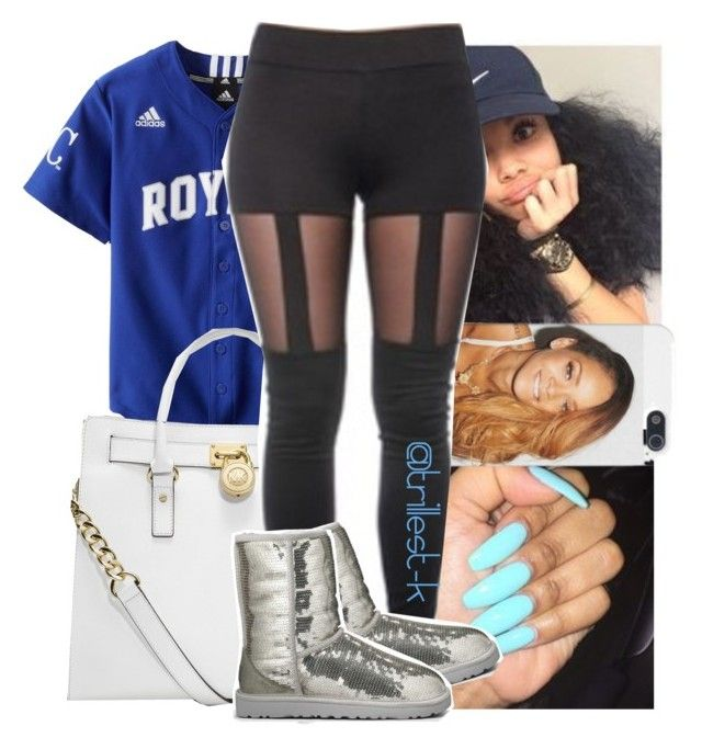 """HYFR-Drake/Lil Wayne"" by trillest-k ❤ liked on Polyvore featuring MICHAEL Michael Kors and UGG Australia"