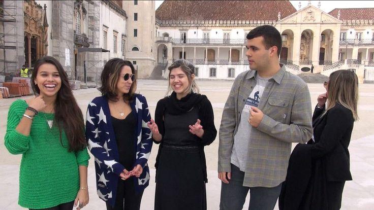 Estudantes brasileiros de Coimbra, em Portugal, falam da sua relação com a universidade
