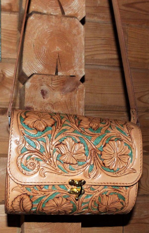 Еще одна сумочка кожа, тиснение по коже, сумка, хэндмейд, Своими руками, рукожоп, баянометр пьян, длиннопост