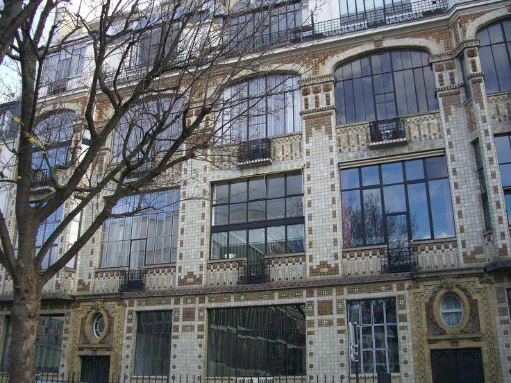 Immeuble primé au concours de façades 1911