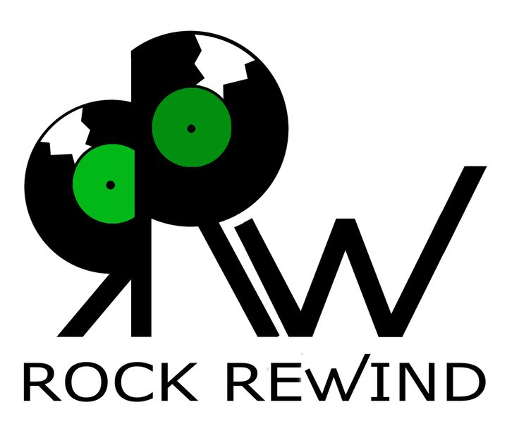 Logo Rock Rewind Radio. Veronica Franceschini, 2014