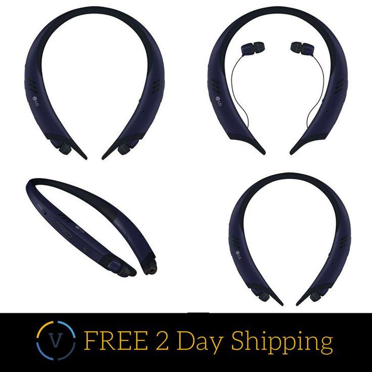 LG Tone Active+ Stereo Bluetooth #Headset Wireless Neckband Headphone #Speakers #LG