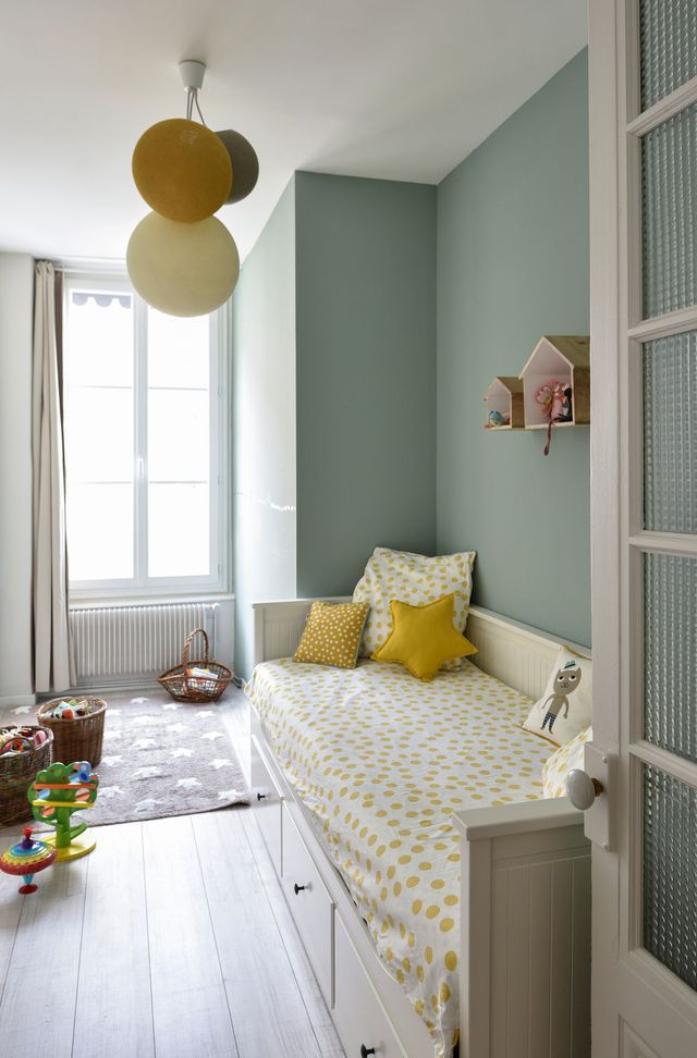 Best Chambre Fille Vert Pastel Contemporary