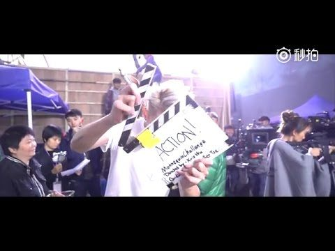161124 Kris Wu Weibo Update - Mannequin Challenge with Europe Raiders Crew