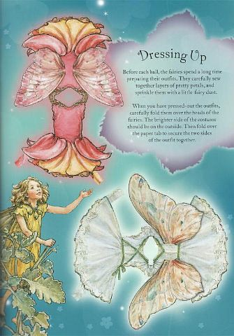 FLOWER FAIRY PAPER DOLLS -  published by Penguin Group in 2005 (10 of 18)  Source:  Miss Missy